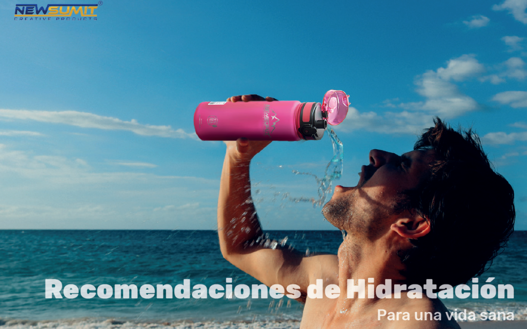 Recomendación de hidratación – Newsumit!